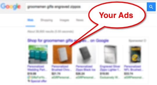 Google Shopping SERP